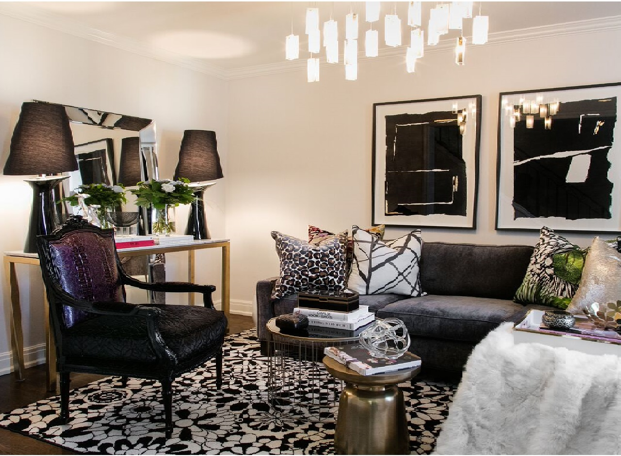 A Curated Interior The Art of Decor Pillows Dawn Chapnick Designs